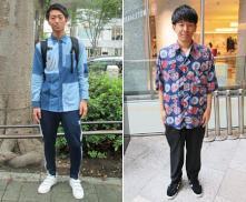 ストリートファッションリサーチ2017 初秋 #2