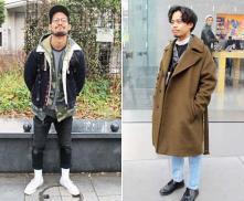 ストリートファッションリサーチ2018 冬 #1